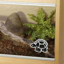 Customised Tortoise Tank Vinyl Decal Sticker Reptile Vivarium Glass Car Window