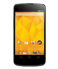 LG NEXUS 4  16GB E960 Black Pre-owned+3 Months Seller Warranty Dent+Scratches-C
