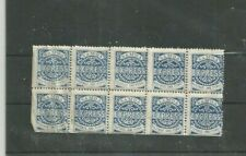 SAMOA BLOCK OF STAMPS