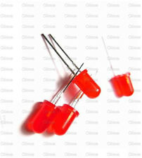 100Pcs LED 5MM RED COLOR RED LIGHT Super Bright Bulb Lamp