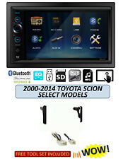 FOR TOYOTA & SCION Stereo Kit, BLUETOOTH TOUCHSCREEN USB AUX MP3