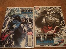World War Hulk Captain America vs Wolverine limited series complete issues 1-2