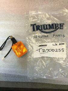 """Triumph Trident Left hand rear or right hand front Indicator """"NEW"""""""