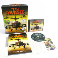 Team Apache for PC CD-ROM in Big Box by Mindscape, 1998, VGC, CIB