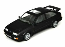 EXCELLENT NOREV 1/18 DIECAST 1986 FORD SIERRA RS COSWORTH UK RHD IN BLACK 182775
