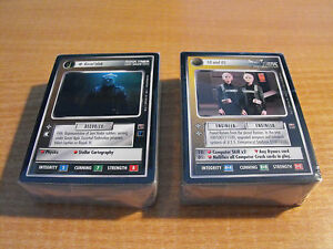 STAR TREK CCG DOMINION MASTER SET, (no White Border promos)