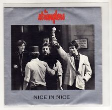 """THE STRANGLERS  7 """" Only Spain Promo Single NICE IN NICE 1986 only one side  /17"""