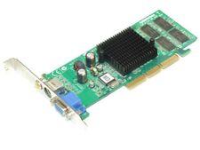 MSI MX440SES-T Nvidia GeForce 4 64MB DDR AGP VGA Vídeo AV-Out Rca