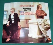 PHIL COLLINS & MARILYN MARTIN - Separate Lives (45 RPM Single) VG+