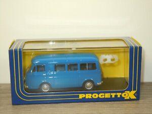 1965 Fiat 238 Minibus Stradale - Progetto K PK340A - 1:43 in Box *53110