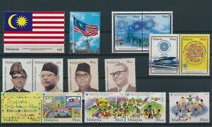 LO29100 Malaysia mixed thematics nice lot of good stamps MNH