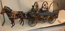 Vintage action Man 1.6th Custom Medic /supply Wagon
