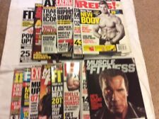 LOT OF 15 MUSCLE type of magazines
