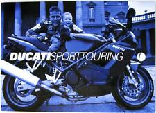 DUCATI Sport Touring (2, 4) - Motorcycle Sales Brochure - 1999 - Eng/Ital