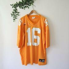 Vintage Adidas Peyton Manning Tennessee Volunteers Football Jersey #16 Size Xxl