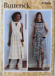 Butterick 6761 Misses / Miss Petite Dresses Sewing Pattern Sz 6-14