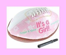 It's a Girl Mini Football - For Baby Shower Gift