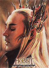 Hobbit Desolation of Smaug THRANDUIL  Artist Proof Sketch Card Rich Salvucci