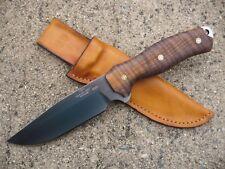 Swamp Rat Knife Works INFIDU / RATMANDU Custom Molded Leather Knife Sheath TAN