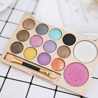Glitter Eyeshadow Palette Shimmer Eye Shadow Powder Eye Makeup Cosmetic DIY Tool