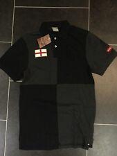 Nike TC Manchester United Man Utd GS Polo T-Shirt Sz Medium Black Gry 442035 010