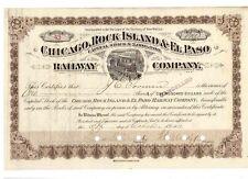 Chicago Rock Island & El Paso Railway  1911