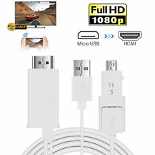 Micro USB to HDMI Media HDTV Adapter 8.2ft Cable 11 Pin/5 Pin for Samsung HTC US