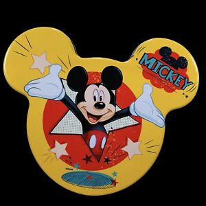 Disney Mickey Mouse 2 Piece Tin Gift Set 1 Shower Gel 1 Eau De Toilette