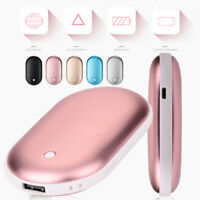 USB Electric Pocket Hand Warmer Heater Charger Rechargeable 5000mAh Power Bank
