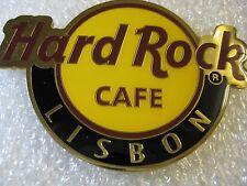 LISBON,Hard Rock Cafe,Round Logo Magnet (not opener)