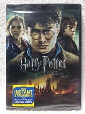 Harry Potter and the Deathly Hallows: Part II DVD Daniel Radcliffe Emma Watson