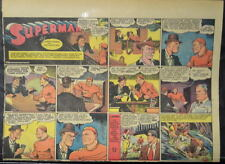 SUPERMAN SUNDAY COMIC STRIP #48 Oct 6, 1940 2/3 FULL Page DC Comics RARE