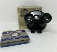 Vintage Sawyer's View Master Stereo Viewer Stereoscope Model B Bakelite with Box