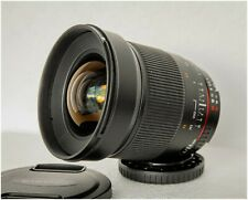 SAMYANG 24mm f/1.4  - MINT - FOR NIKON FULL FRAME - BARGAIN