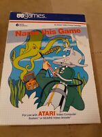Name This Game for ATARI 2600 Complete in Box ▪︎ FREE SHIPPING ▪︎