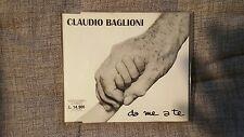 BAGLIONI CLAUDIO  - DA ME A TE. CD SINGOLO 1 TRACK