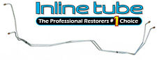 1996-98 Chevrolet Truck 2wd/4wd 4L80E Transmission Cooler Lines Trans Stainless