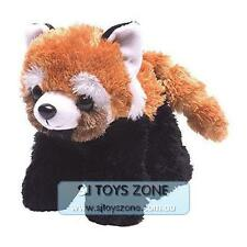 "Red Panda 7"" / 18cm  Wild Republic Hug'ems Stuffed Animal Kids Soft Plush Toy"