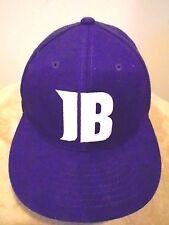 JUSTIN BIEBER FEVER Bright Purple BASEBALL HAT Fan Cap Concert Music Album COOL!