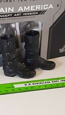 Hot Toys MMS488 Captian America  Concept Art 1/6 Action Figure's boots / shoes