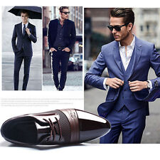 Men's New Dress Formal Oxfords Leather shoes Business Casual Fashion Large Size