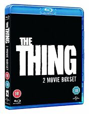 THE THING ORIGINAL MOVIE AND PREQUEL BLU-RAY 2 DISC BOX SET REG B AUS NEW&SEALED