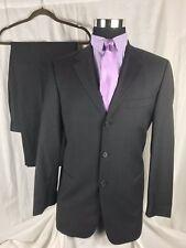 FLASH SALE HUGO BOSS Charcoal Grey Slim Fit Suit 40R