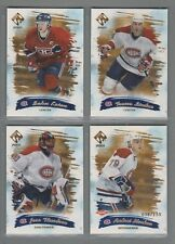 2000-01 Pacific Private Stock GOLD Montreal Canadiens Team Set (4)
