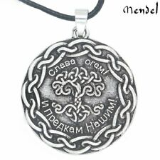 MENDEL Celtic Living Tree of Life Symbol Necklace Nordic Eternity Pendant Unisex