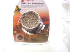 53 LED 4 FUNCTION HEADLAMP HEADLIGHT HEAD TORCH LIGHT LAMP F.U.M. TOOLS FUM