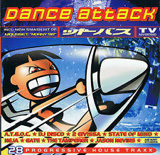 DANCE ATTACK - 28 PROGRESSIVE HOUSE TRAXX (2CD) - 1998 Edel ‎– 0049002DAK