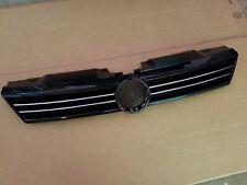 fits 2011-2014 VOLKSWAGEN JETTA SEDAN Black w/ Chrome Grille on Front Bumper NEW