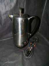 Vtg FARBERWARE Super Fast 2-12 Cup Electric Perculator Automatic Coffee Pot 142B
