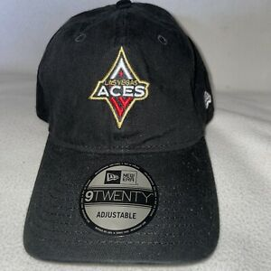 Las Vegas Aces New Era Rebel Edition 9TWENTY Adjustable Hat - Black